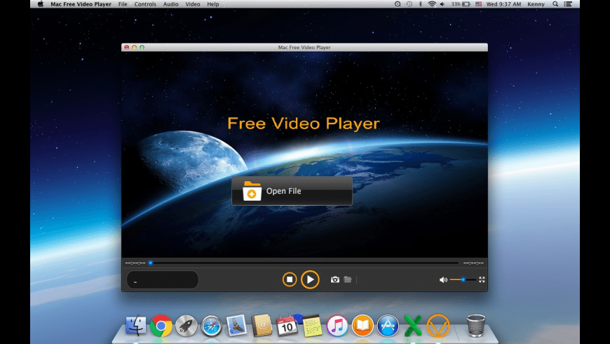 Shining Free Video Player for Mac - review, screenshots