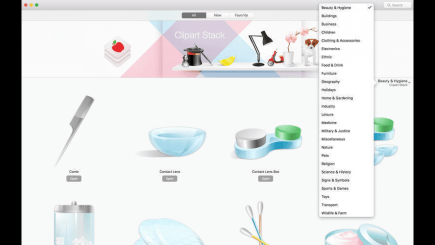 Vector Icons for Mac - review, screenshots