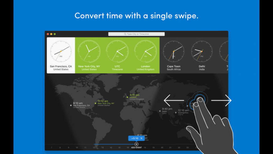World Clock Pro for Mac - review, screenshots