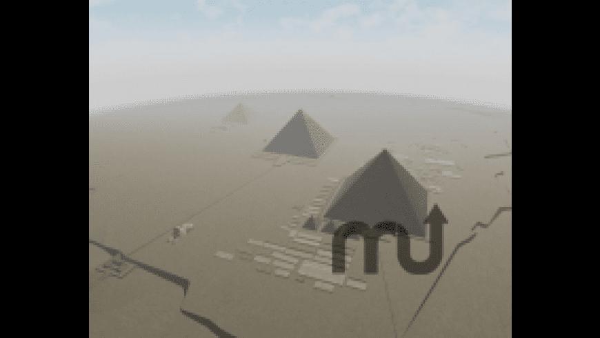 Pyramids of Egypt 3D Screensaver for Mac - review, screenshots