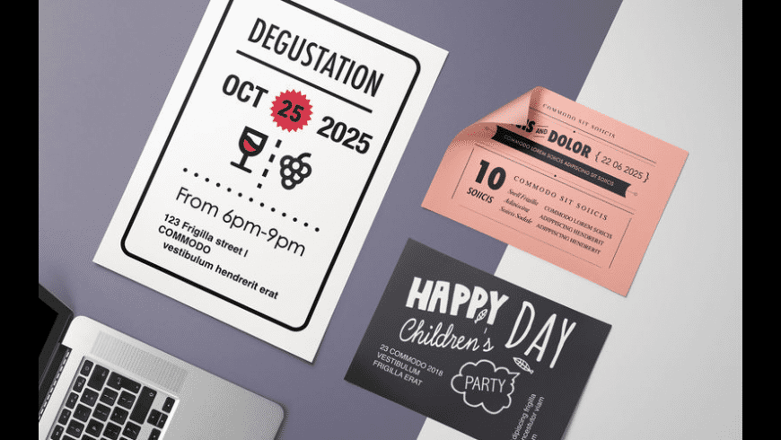 Greeting Card DesiGN Templates for Mac - review, screenshots