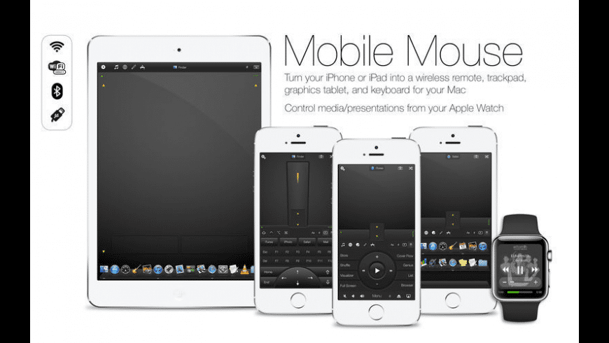 Mobile Mouse Server for Mac - review, screenshots