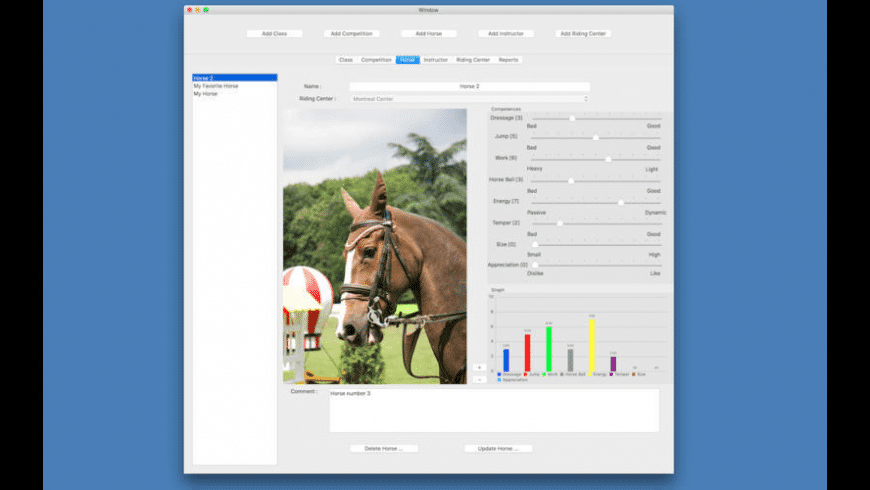 Track My Riding Class for Mac - review, screenshots