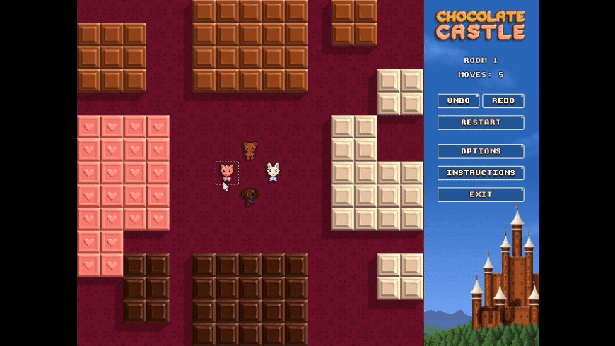 Chocolate Castle for Mac - review, screenshots