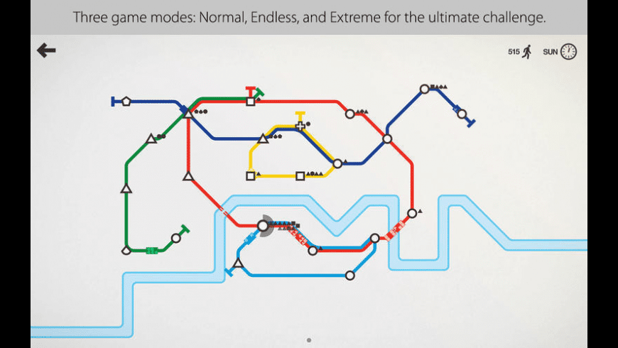 Mini Metro for Mac - review, screenshots