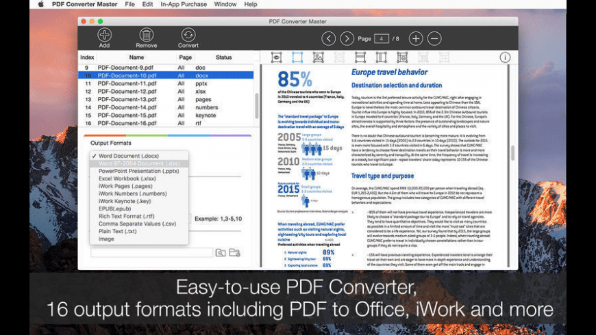 PDF Converter Master for Mac - review, screenshots