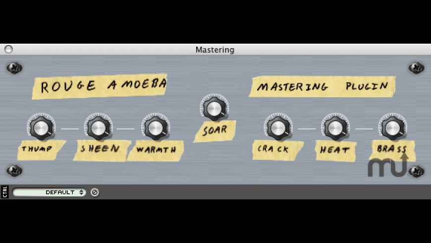 Rogue Amoeba Mastering Plugin for Mac - review, screenshots
