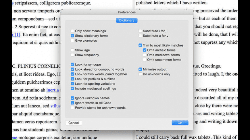 LatinEdit for Mac - review, screenshots