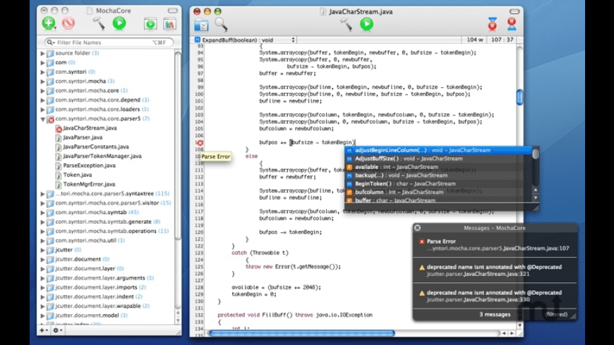 MochaCode for Mac - review, screenshots