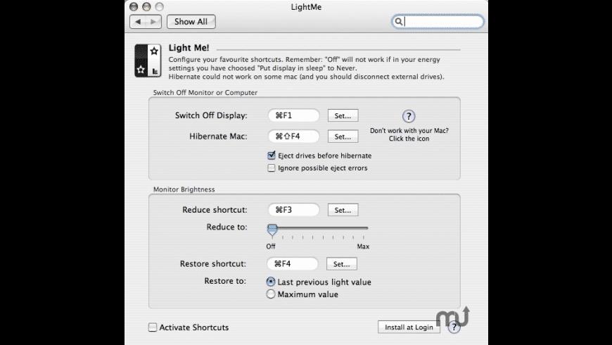 LightMe for Mac - review, screenshots