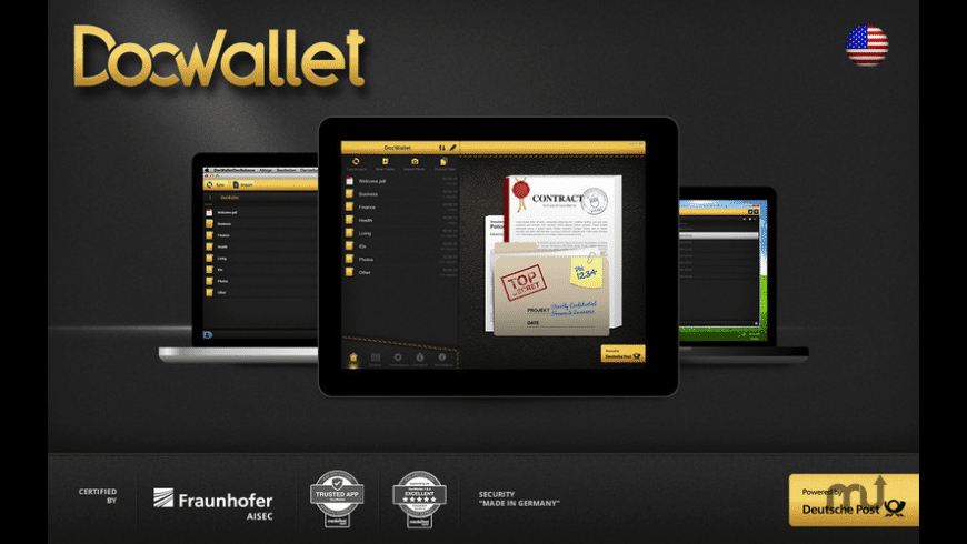 DocWallet for Mac - review, screenshots
