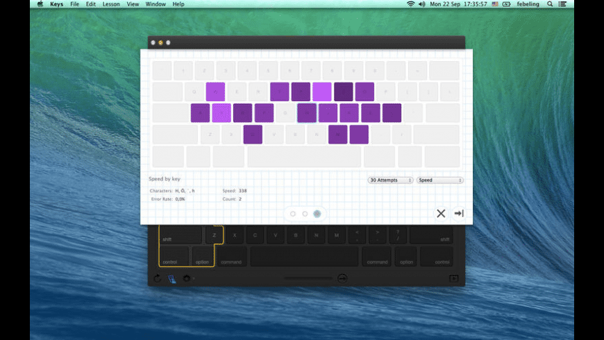 Keys for Mac - review, screenshots
