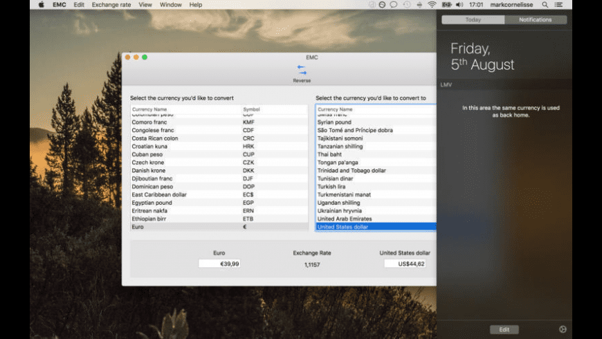 EMC for Mac - review, screenshots