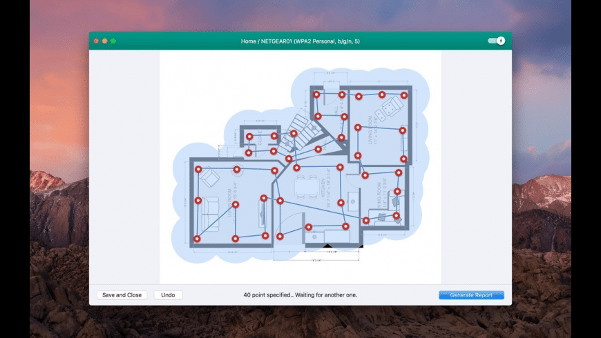 Wifiner - WiFi Analyzer for Mac - review, screenshots