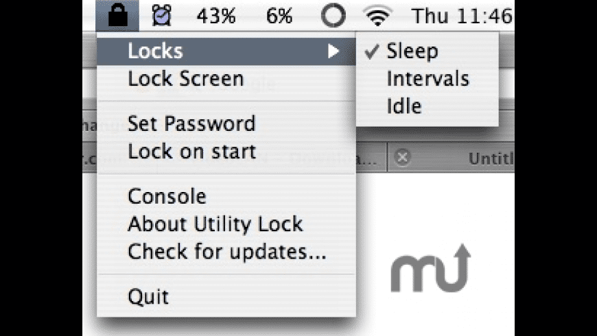 Utility Lock for Mac - review, screenshots