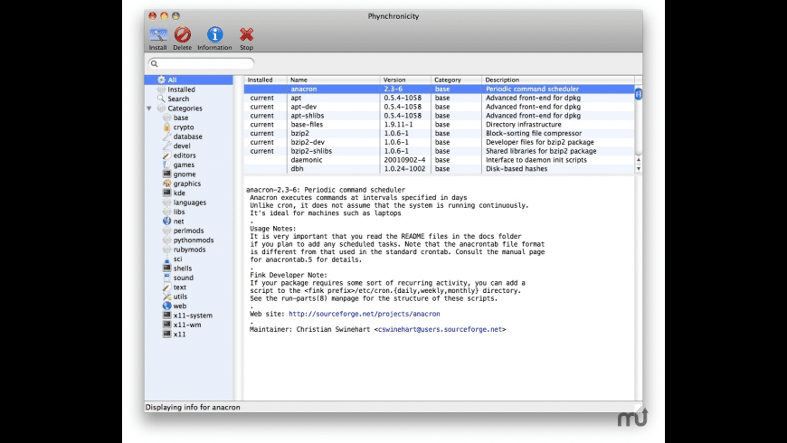 Phynchronicity for Mac - review, screenshots