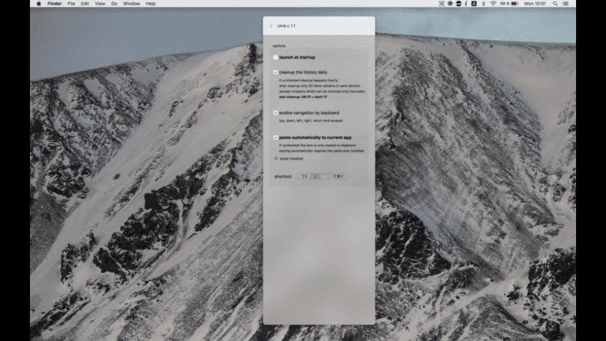 cmd c for Mac - review, screenshots