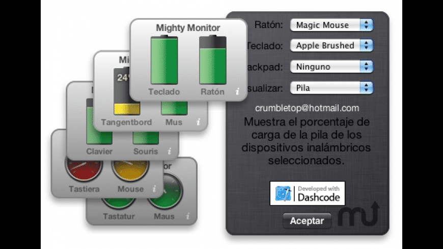 MightyMonitor for Mac - review, screenshots