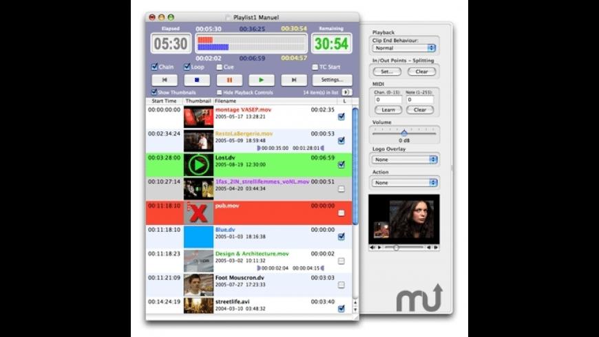 OnTheAir Video DV for Mac - review, screenshots