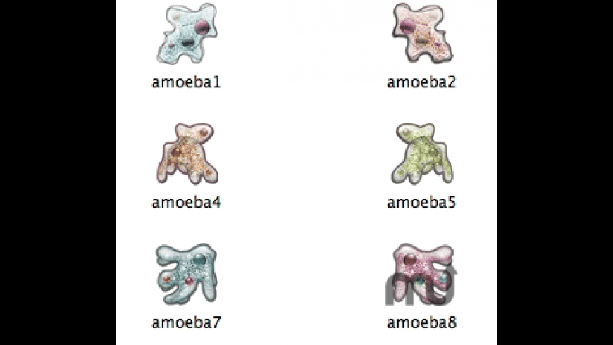 Amoebae Icons for Mac - review, screenshots