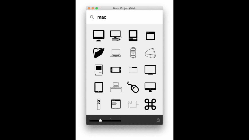 The Noun Project for Mac - review, screenshots