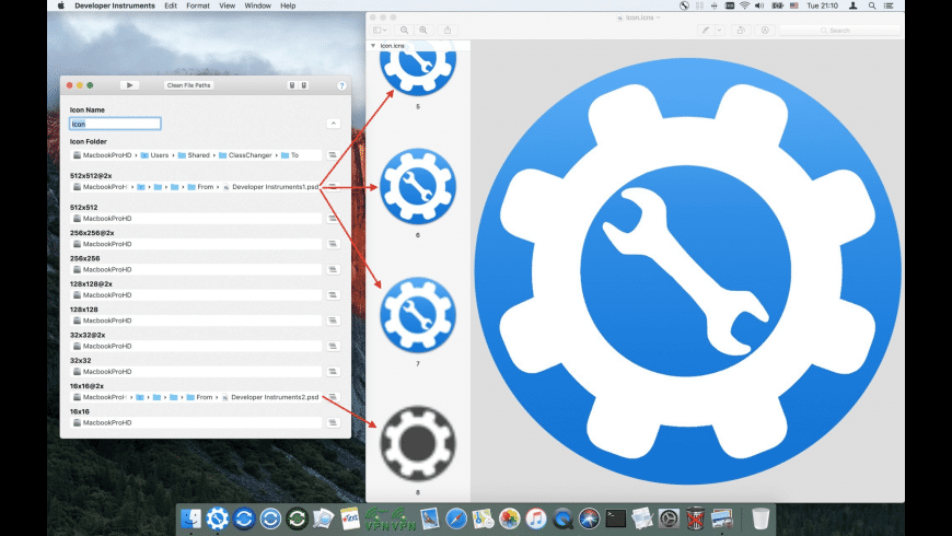 Developer Instruments for Mac - review, screenshots