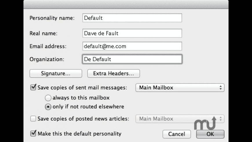 MacSoup for Mac - review, screenshots