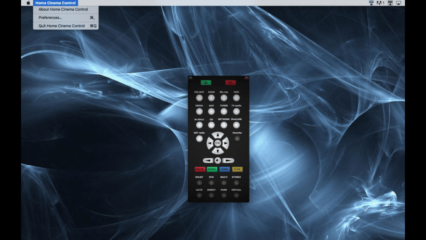 Home Cinema Control for Mac - review, screenshots