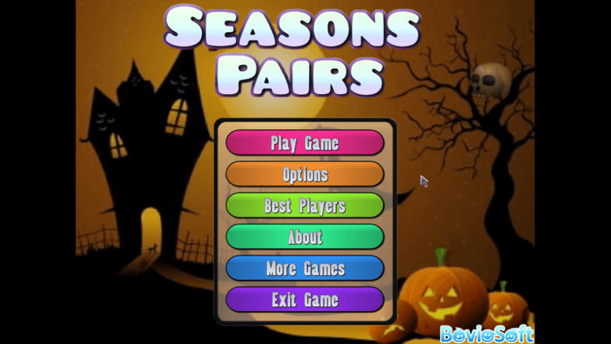 Seasons Pairs for Mac - review, screenshots
