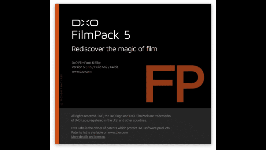 DxO FilmPack for Mac - review, screenshots