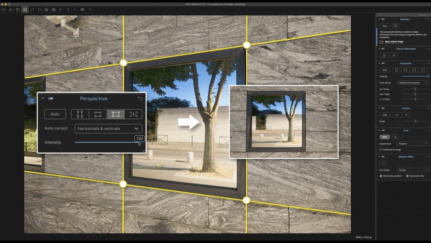 DxO ViewPoint for Mac - review, screenshots