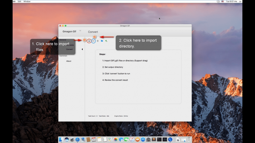 Gmagon Gif for Mac - review, screenshots