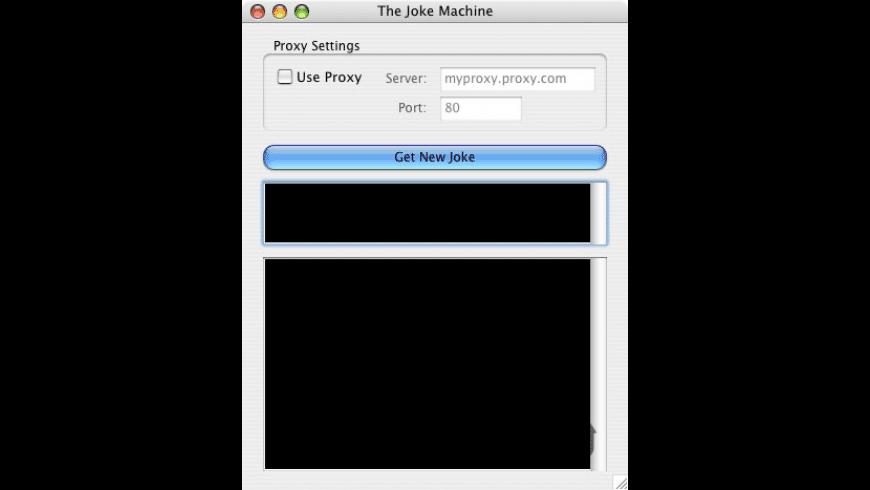 The Joke Machine for Mac - review, screenshots