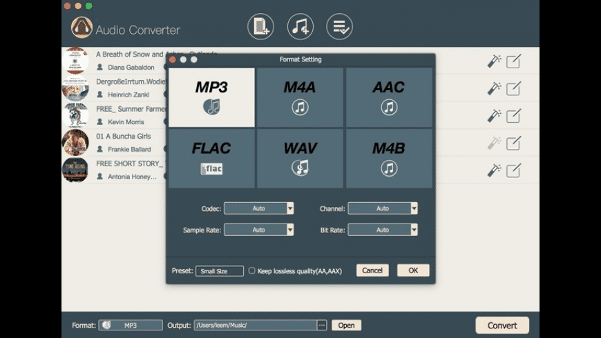 TunesKit DRM Audio Converter for Mac - review, screenshots