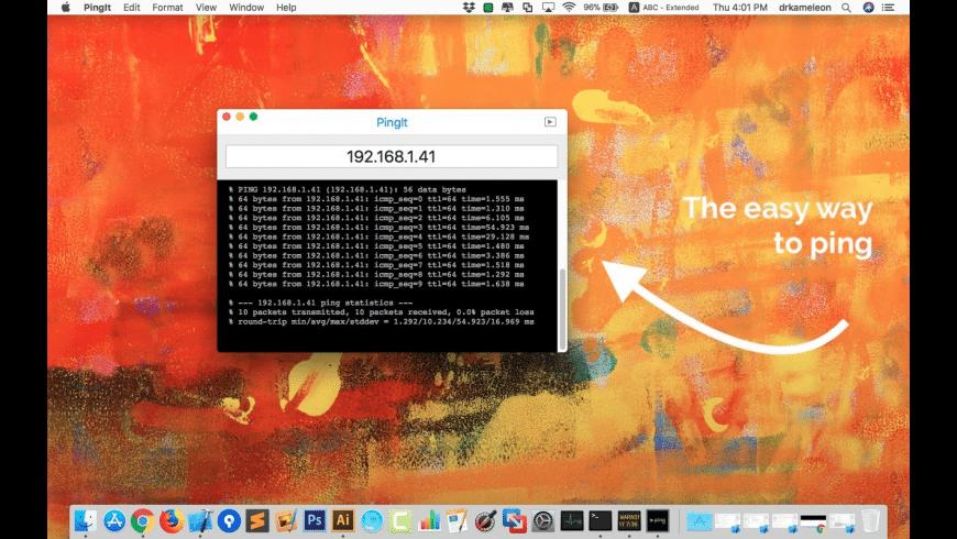 PingIt for Mac - review, screenshots