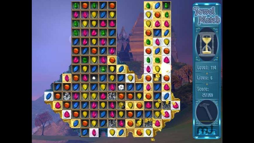 Jewel Match for Mac - review, screenshots