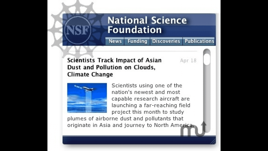 NSF Information for Mac - review, screenshots