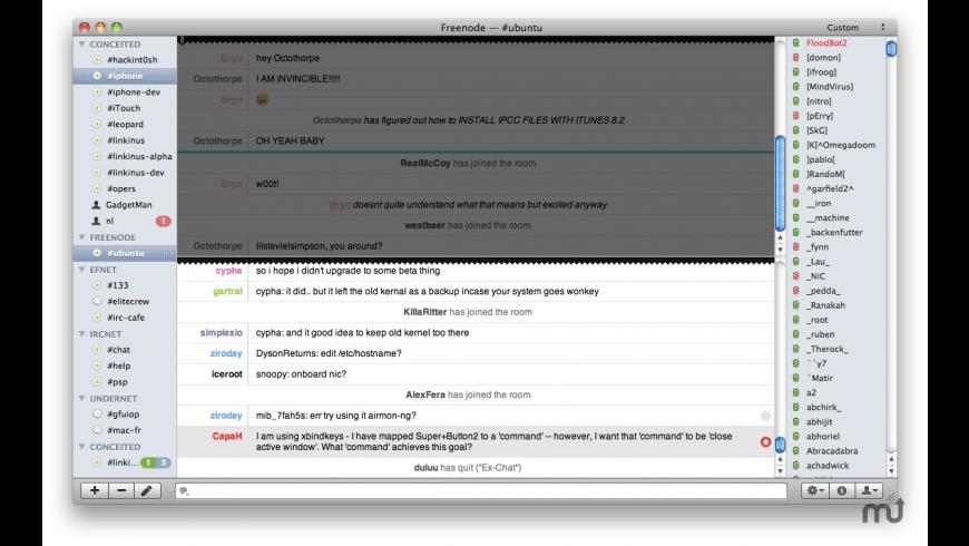 Linkinus for Mac - review, screenshots
