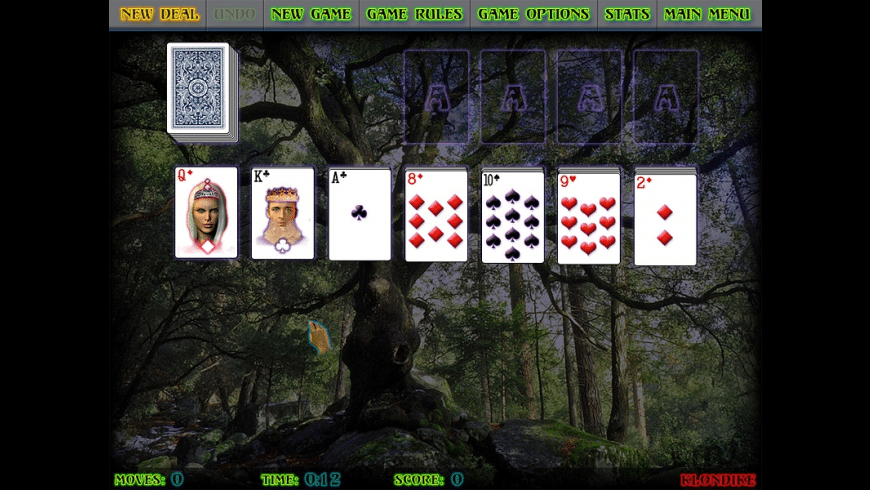 Mystical Solitaire for Mac - review, screenshots