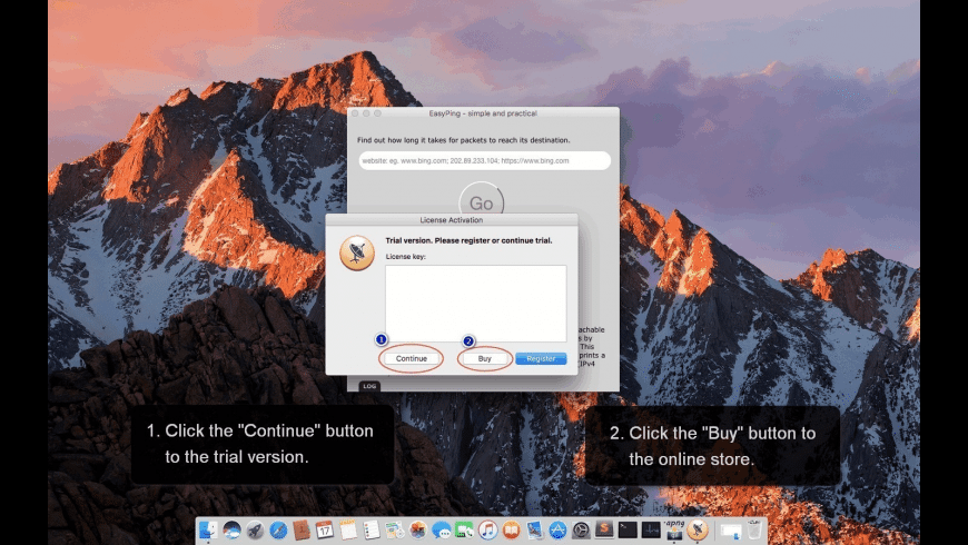 EasyPing for Mac - review, screenshots
