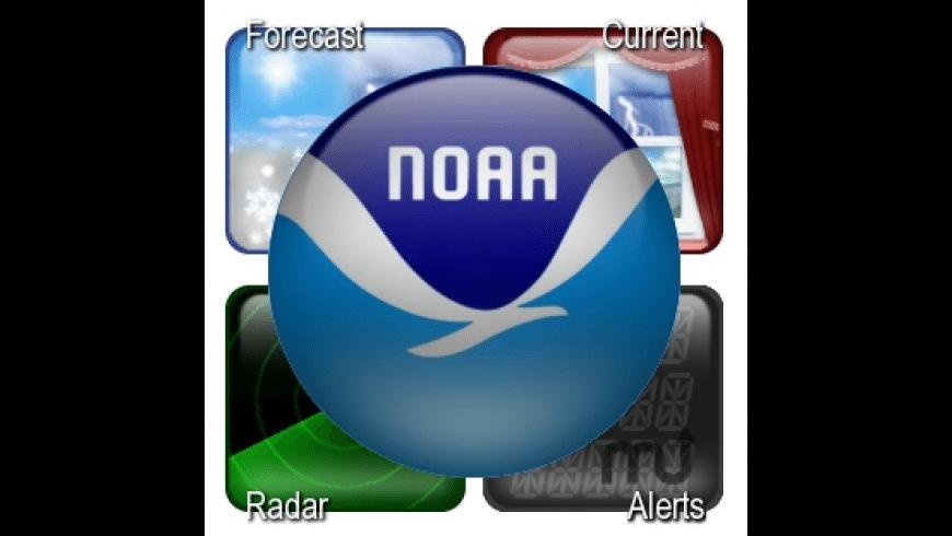NOAA Weather Center for Mac - review, screenshots
