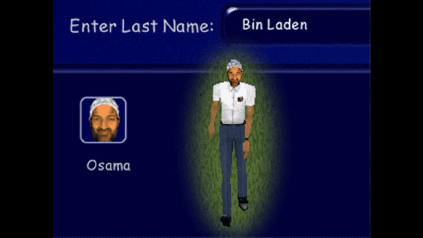 The Sims Bin Laden Skin for Mac - review, screenshots