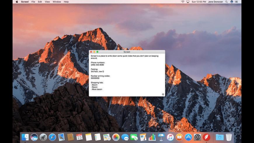 Scrawl for Mac - review, screenshots