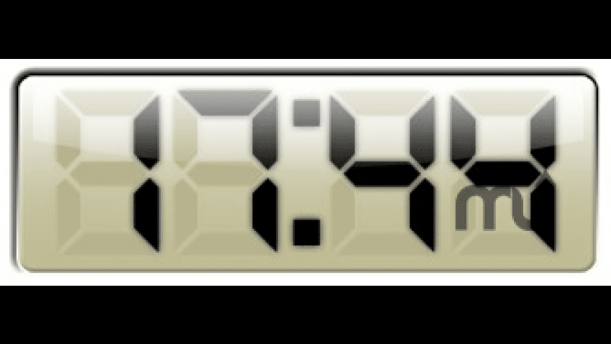 Big Digital Clock for Mac - review, screenshots