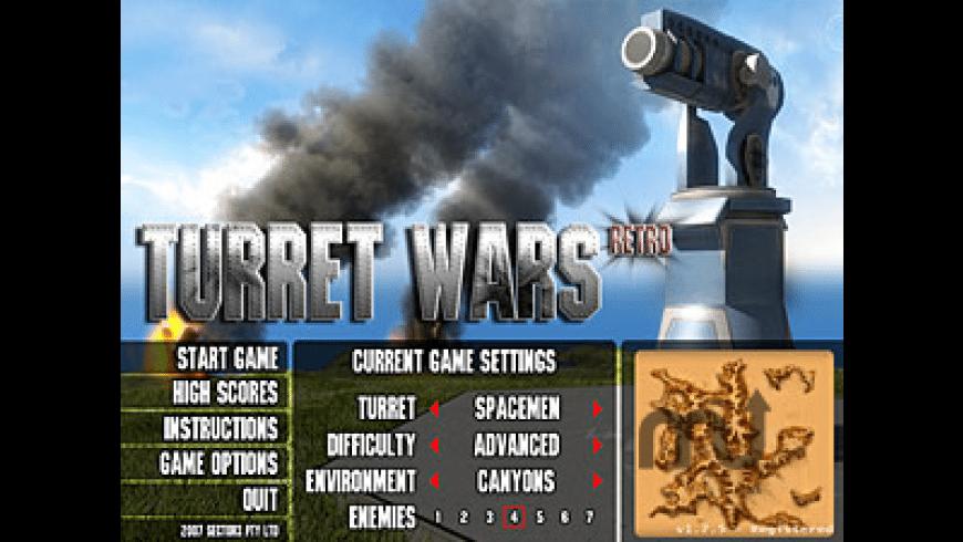 Turret Wars Retro for Mac - review, screenshots