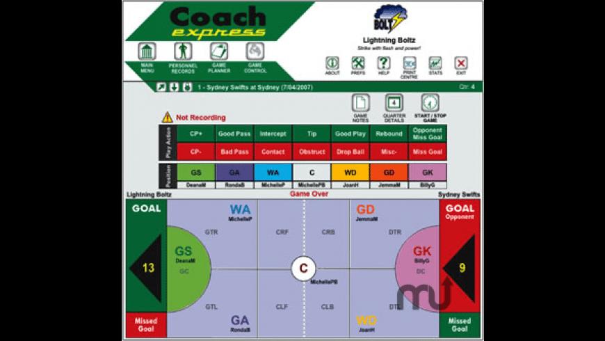Coach Express for Mac - review, screenshots
