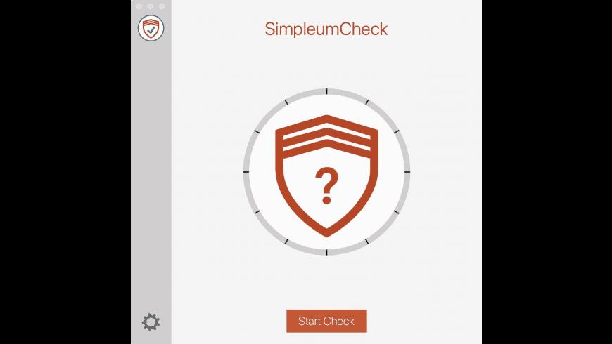 SimpleumCheck for Mac - review, screenshots