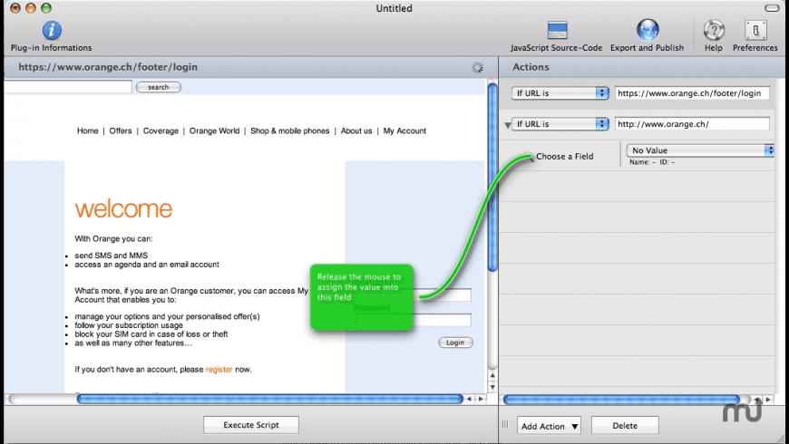 Plugin Designer for Luscious SMS for Mac - review, screenshots