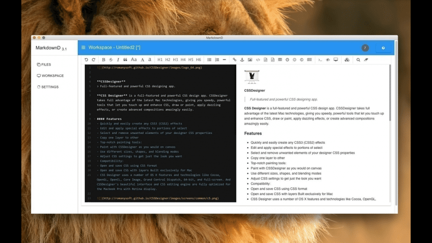 MarkdownD for Mac - review, screenshots