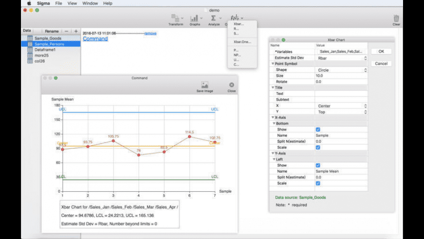 Sigma for Mac - review, screenshots